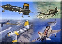Military Aircraft & Helicopters 1946 to Present