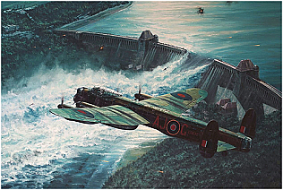 Low Pass Over the M�hne Dam by Anthony Saunders
